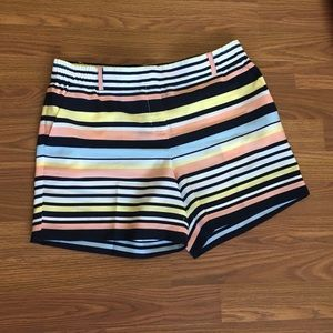 The Limited Striped Shorts